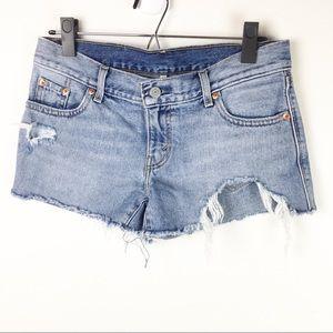 Levi's | cut off shorts